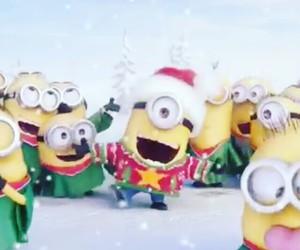 christmas and minions image