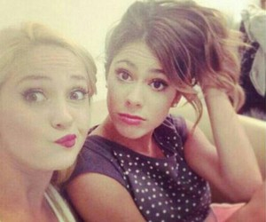 martina stoessel, violetta, and mercedes lambre image