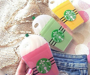 starbucks, case, and chain image