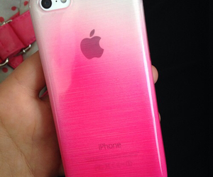 iphone, ombre, and pink image