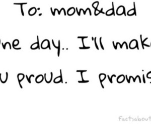promise, proud, and dad image