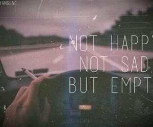 sad, empty, and happy image