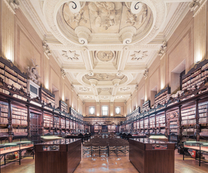 around, beauty, and libraries image