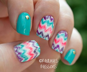 colorfull and nails image