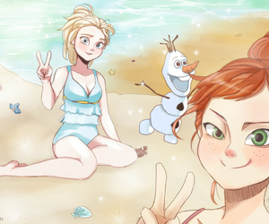cool, Queen, and elsa image