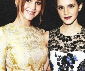 emma watson, Jennifer Lawrence, and Nina Dobrev image