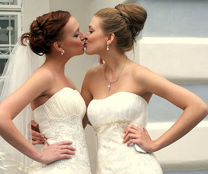 lesbian and bride image