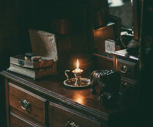 candle, vintage, and grunge image