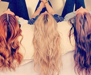 awesome, blond, and hair image