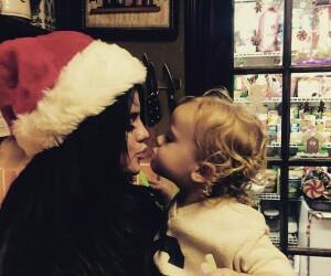 selena gomez, sisters, and christmas image