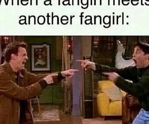 fangirl, funny, and friends image