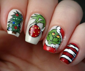 christmas and nails image