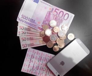 casino, euro, and happy image