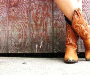 boots, cowboy boots, and country image