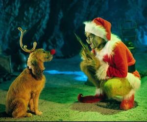 grinch, christmas, and dog image