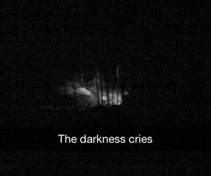 cry, Darkness, and night image