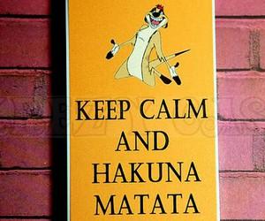 disney and hakuna matata image