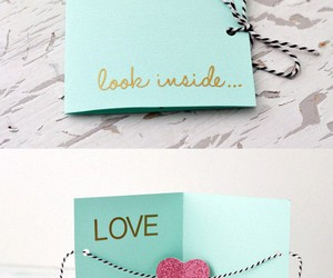 diy, love, and card image