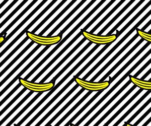 5, background, and banana image