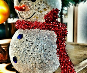 christmas, snowman, and so cute image