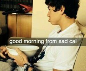 sad, 5 seconds of summer, and calum hood image