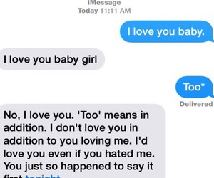 inlove, textmessages, and mesaages image
