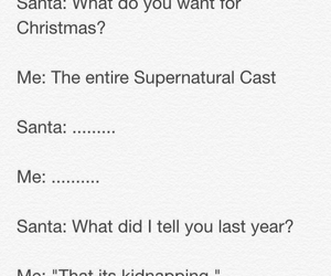 christmas, funny, and supernatural image