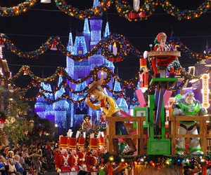 christmas and disney image
