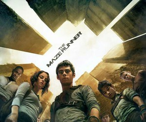 the maze runner, thomas, and teresa image