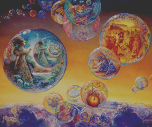 bubbles, clouds, and floating image