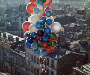 awesome, city, and balloons image
