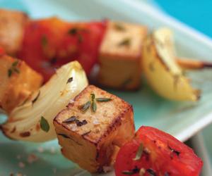 food, healthy, and tofu image