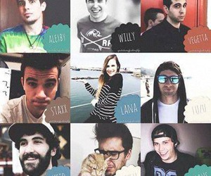 elrubiusomg, youtubers, and mangelrogel image