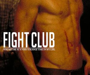 brad pitt, movie, and fight club image