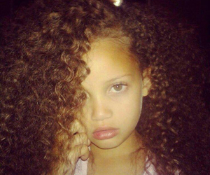 child, beauty, and curly image