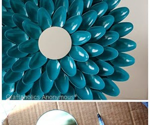 diy, mirror, and recycle image