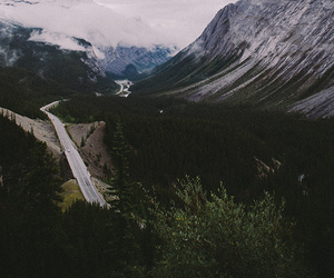 mountains, nature, and indie image
