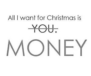 money, christmas, and funny image