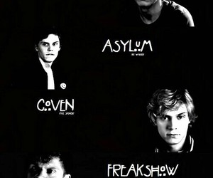 evan peters, asylum, and coven image