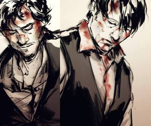 draw, will graham, and we love hannibal image