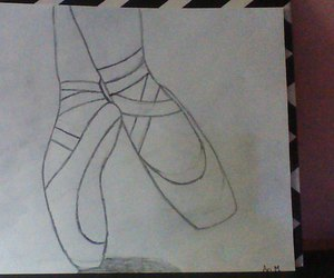 ballet, draw, and mine image