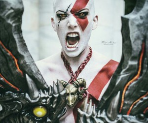 cosplay, god of war, and kratos image