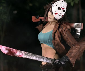 cosplay, jason, and friday 13th image