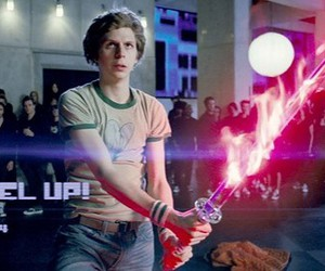 scott pilgrim, level up!, and power of courage image