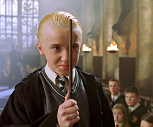 harry potter, draco malfoy, and tom felton image