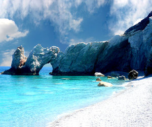 beach, holiday, and white image