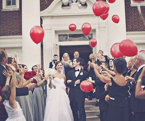 balloons and wedding image