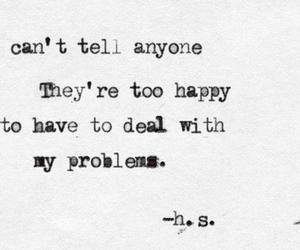 problem, sad, and depressed image