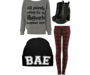 fashion, hogwarts, and grunge image