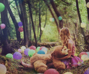 balloons, childhood, and dreams image